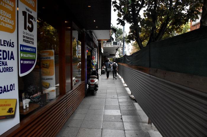 El centro, en obra: alerta de vecinos y comerciantes