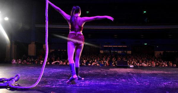 Circo La Audacia: función especial en el teatro