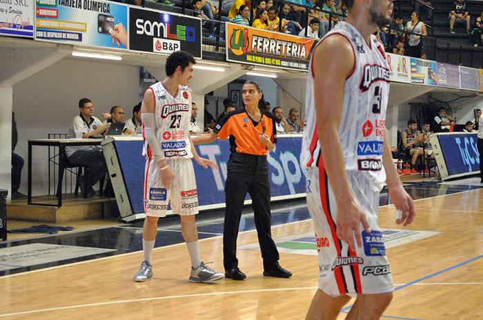 Flor arbitro mujer liga nacional