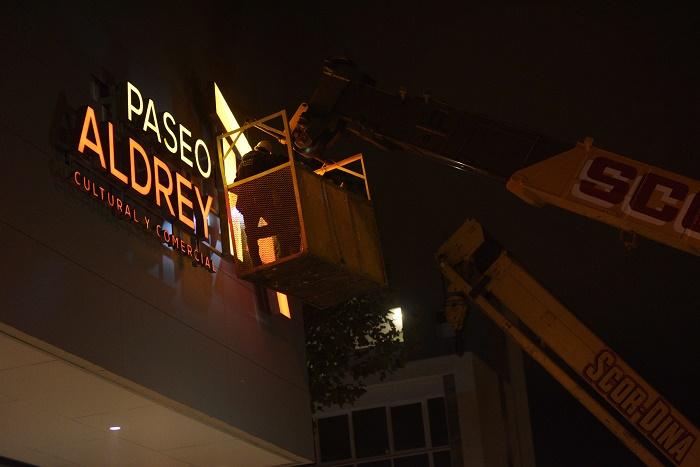 Aldrey: baja de carteles, apertura de la plaza y actividades culturales