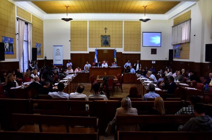"""Piden proyectar el video """"Insulto"""" antes de cada sesión del Concejo"""