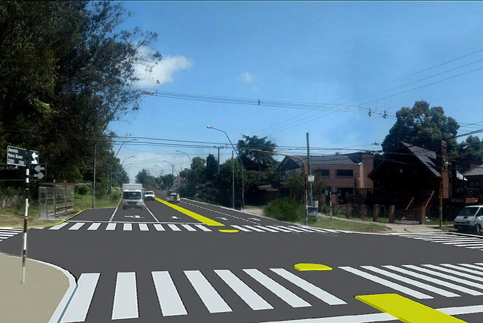 Cómo será la obra de ensanche de la avenida Mario Bravo
