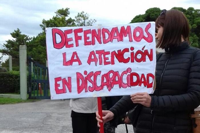 Crisis en Incluir Salud: le llevaron el reclamo a Macri en Chapadmalal