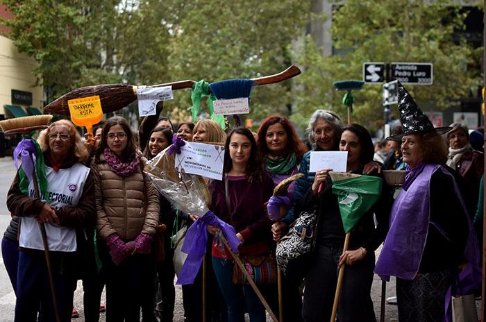 """Las mujeres y una """"barrida a Arroyo"""": """"Se tiene que hacer cargo"""""""