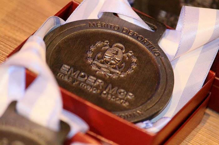 Se entregaron las medallas al Mérito Deportivo