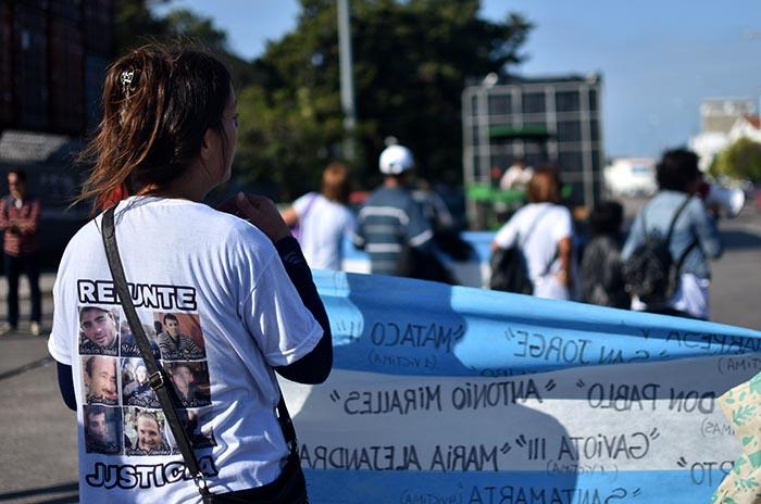 Día del Trabajador: las víctimas del Repunte, presentes
