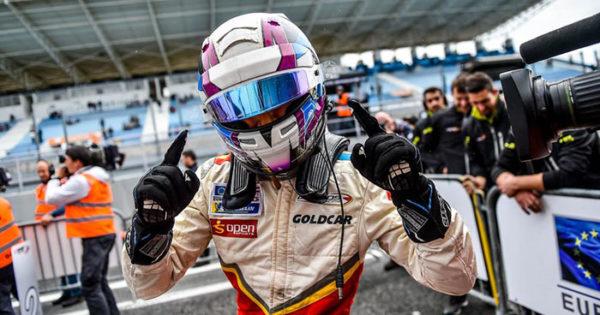 Euro Fórmula: Marcos Siebert logró un primer puesto en su debut