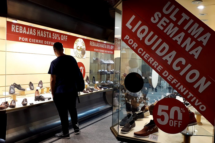 """Cierre de comercios: """"La caída en el consumo es lo que más impacta"""""""