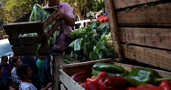 """Otro verdurazo frente al Municipio por la """"angustiante situación"""""""