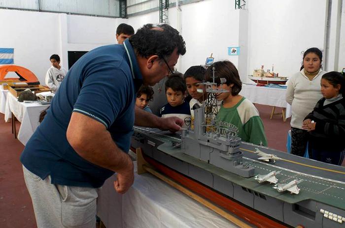 Malvinas: el museo que nació en la pieza del hijo de un excombatiente