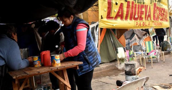 Acampe en Desarrollo Social: tras 36 días, intervendrá la Provincia