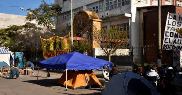 """Acampe, 15 días: """"El gobierno no quiere negociar"""""""