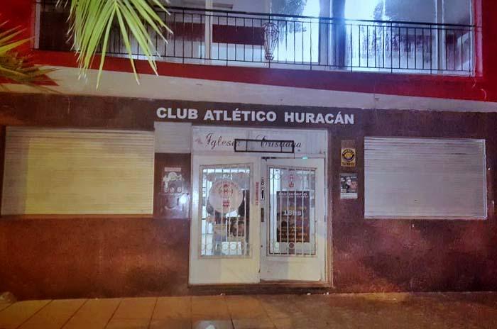Clausuraron el club Huracán por una fiesta clandestina