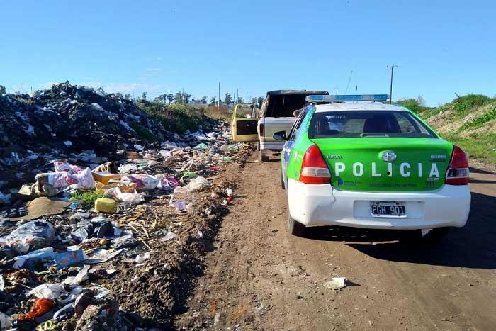 Más personas infraccionadas por arrojar basura en la vía pública