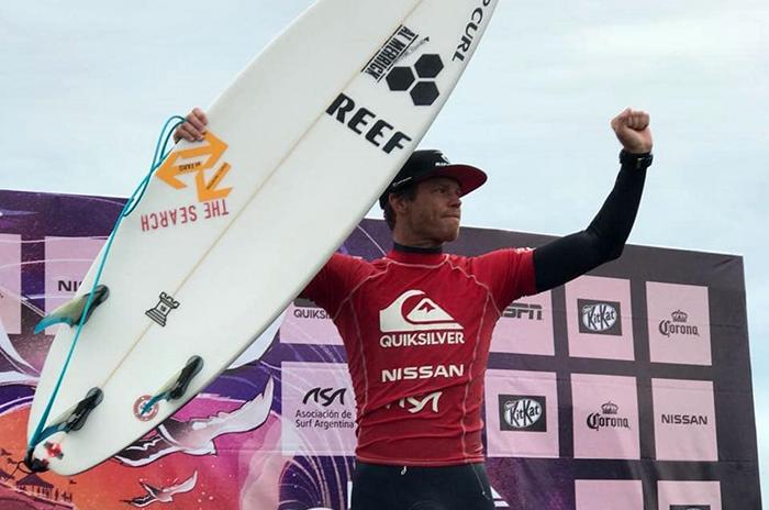 Leandro Usuna, campeón nacional por tercera vez