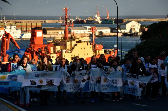 ARA San Juan: a siete meses, convocan a una nueva marcha