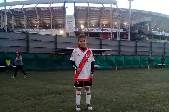 Mica aldosivi river futbol femenino
