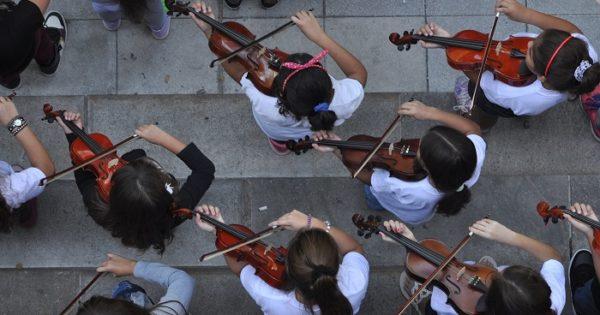 Orquesta Infanto Juvenil: campaña de donación de instrumentos