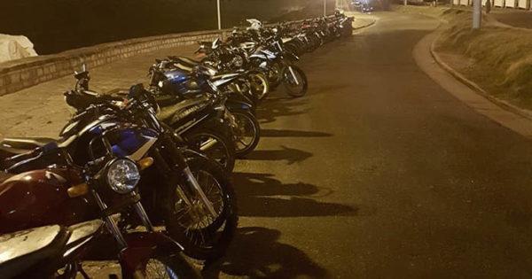 Motos secuestradas, un garage inspeccionado y un detenido