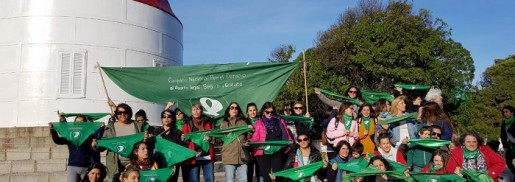 Otro pañuelazo por el derecho al aborto, esta vez en el sur