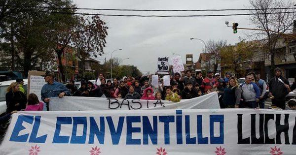 Conventillo incendiado: reclamo contra las promesas incumplidas