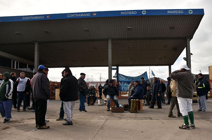 Segundo día de bloqueo en el Puerto de Mar del Plata
