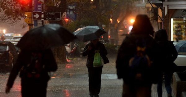 Pronostican lluvia para este domingo en Mar del Plata