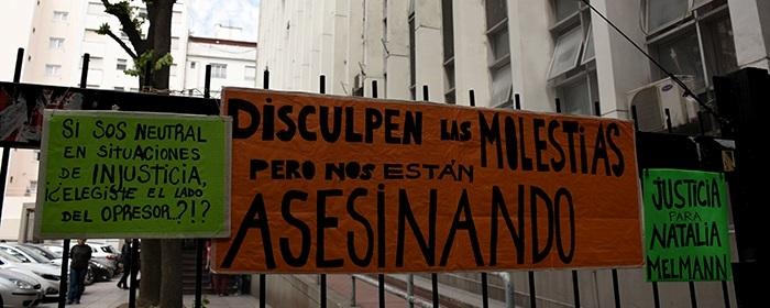 """""""Exigir #NiUnaMenos también es pedir justicia por Natalia Melmann"""""""