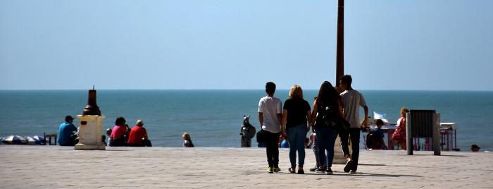 Fin de semana largo: llegaron 100 mil turistas a la ciudad