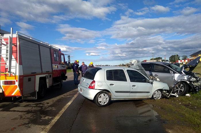 Ruta 226: murió el conductor del auto que atropelló a los ciclistas