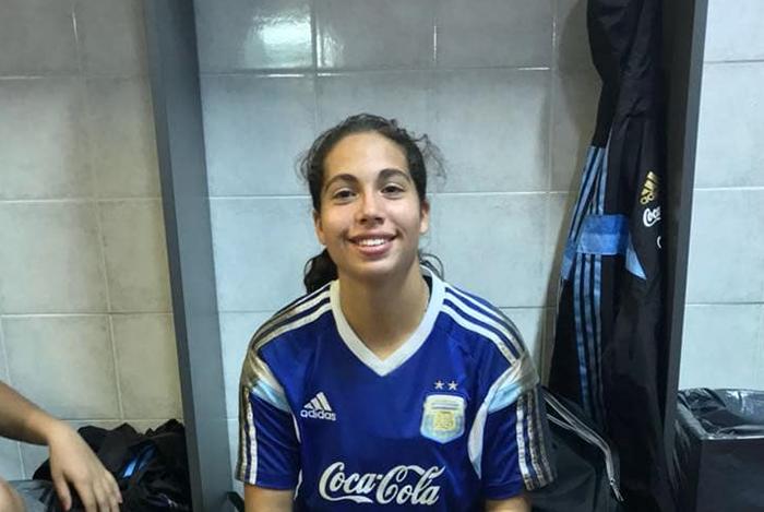 Brenda Pereira, a los Odesur con la Selección femenina de fútbol
