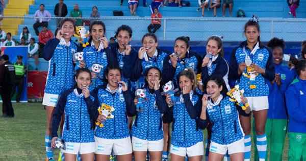 Odesur: Montero logró la medalla de plata en rugby femenino