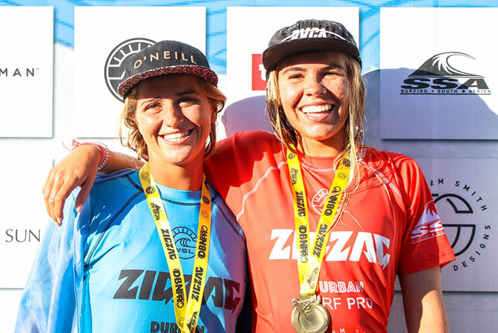 Josefina Ané logró un segundo puesto en Sudáfrica