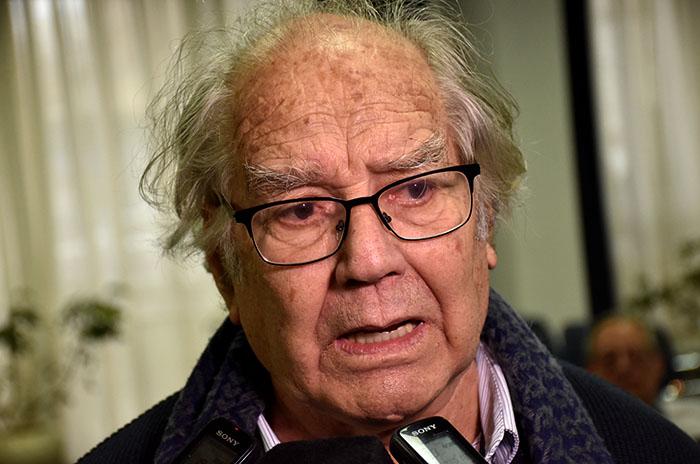 """Pérez Esquivel: """"Aumentó mucho el hambre y es un crimen"""""""