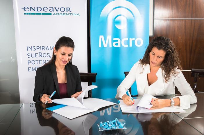 Banco Macro y Endeavor se unen para capacitar a emprendedores