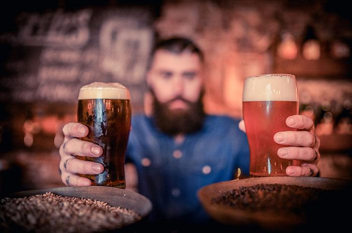 Casa Rock cerveza