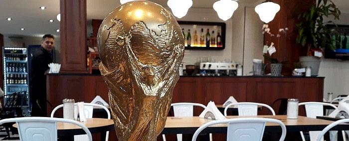 De Rusia a Mar del Plata: sortean una réplica de la Copa del Mundo