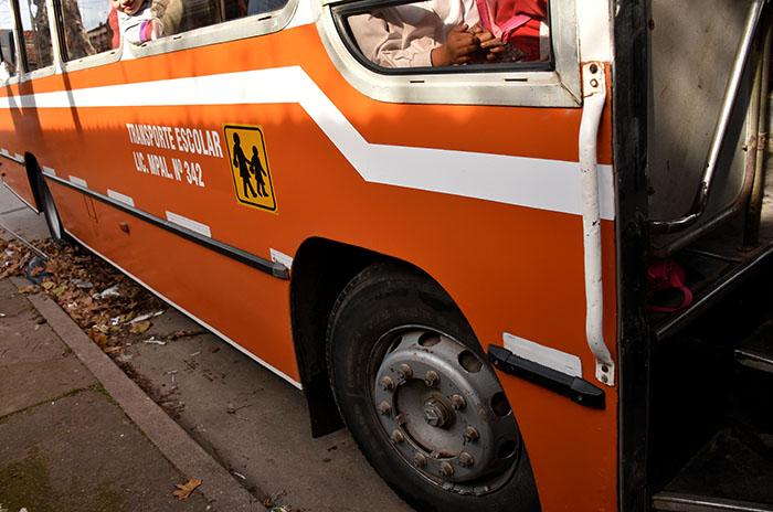 """Transporte escolar en cuarentena: """"Hay personas que no tienen para comer"""""""