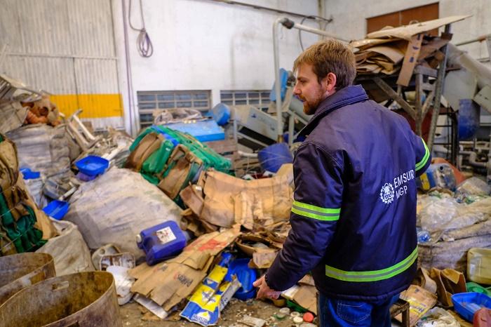 Reciclaban envases de productos químicos: el lugar fue clausurado