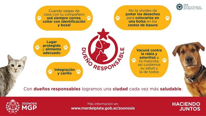 Imagen MGP - Campaña Dueño Responsable tenencia de mascotas