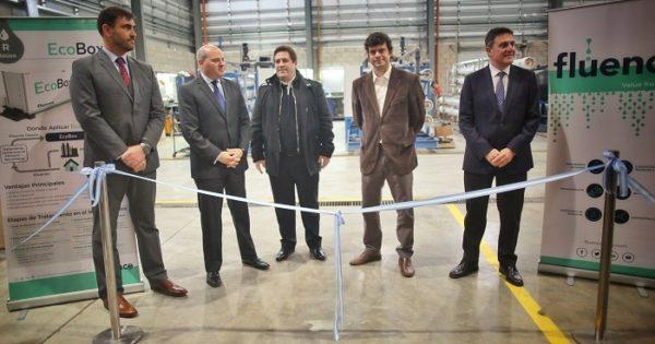 Inauguran una planta de recuperación y reúso de aguas