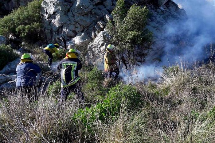 Incendio forestal consumió casi 30 hectáreas en Sierra de los Difuntos