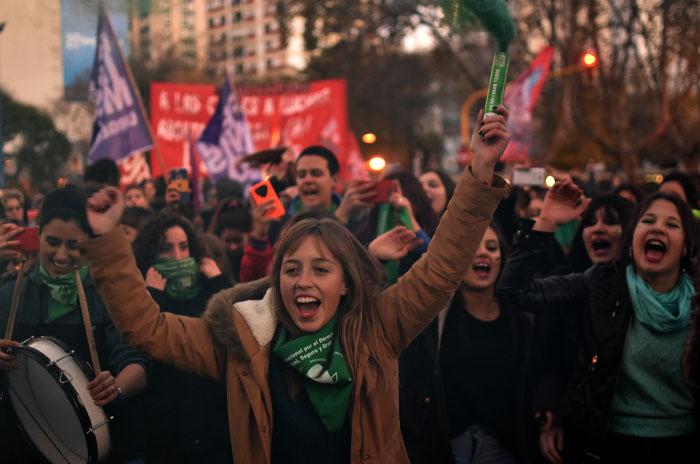 Aborto legal: alegría y unidad en las calles tras la media sanción