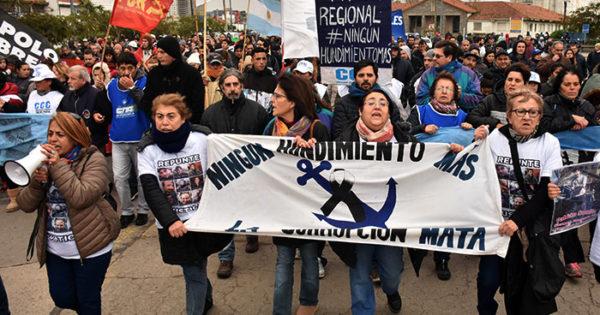 Rigel: una nueva marcha porque en el Puerto nada cambia