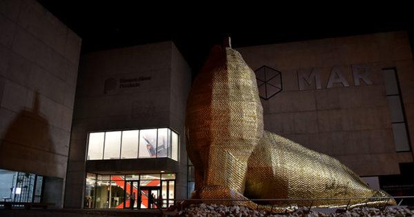 """El Museo MAR exhibirá la intervención """"Muchos días felices"""""""