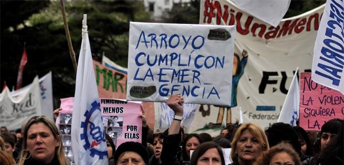 #NiUnaMenos: la emergencia, con diversos puntos sin implementar