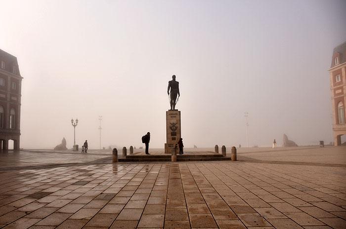 Domingo: pronostican mañana con niebla y tarde con lluvia