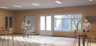 Licitan obras para reparar parte del Hogar Municipal de Ancianos