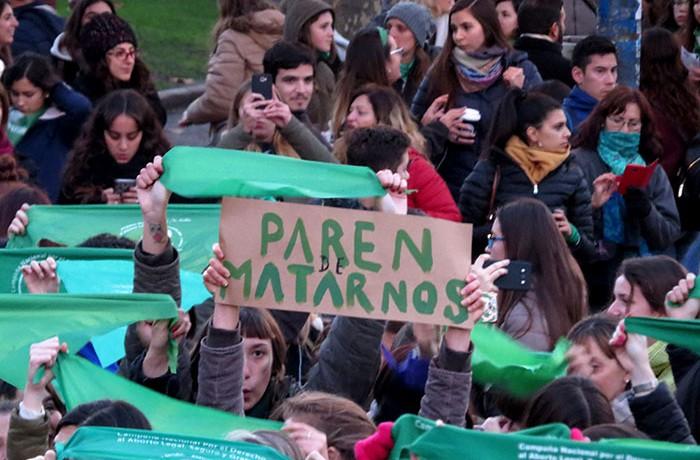 PAÑUELAZO VIGILIA 5 ABORTO