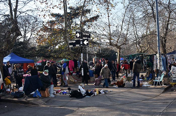 Plaza Rocha: feriantes se organizan y elevan una carta a Arroyo